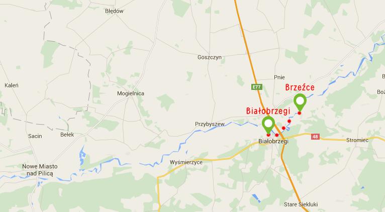 Białobrzegi – Brzeźce
